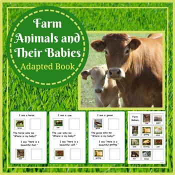 Adapted Book: Farm Animals & Their Babies