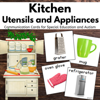 Autism & Special Needs Communication Cards- Kitchen Tools