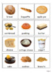 Food Vocabulary Cards for Special Education, Pecs