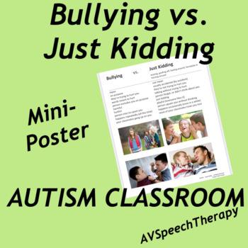 Autism:Bullying vs Just Kidding