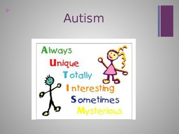 Autism Spectrum Disorder Powerpoint Presentation