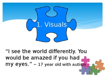 Autism Spectrum Disorders - 8 Pieces of The Puzzle