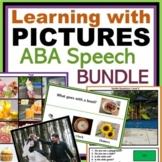 Autism ABA and Speech Bundle
