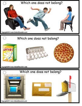 Autism Speech and Language - Which One Does Not Belong?