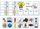 Autism: Spongebob Token Board With Feelings