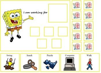 Autism Spongebob And Patrick Token Boards