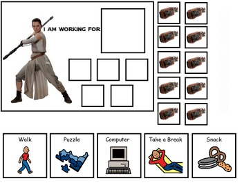 Autism:  Star Wars Token Boards