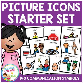 PECS Starter Set Visual Schedule Cards Autism