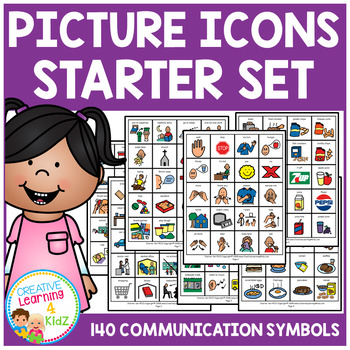 Visual Schedule Cards Starter Set Autism PECS