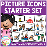 Picture Icons Schedule Cards Starter Set Special Education Autism Boardmaker PCS