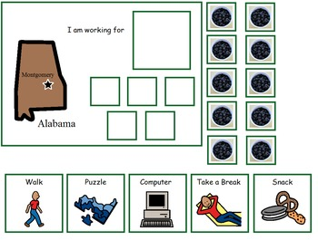 Autism:  State of Alabama Token Board