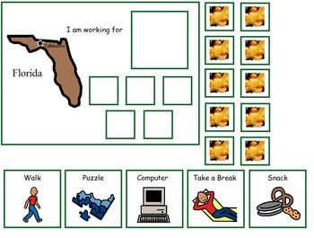 Autism:  State of Florida Token Board