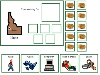 Autism:  State of Idaho Token Board