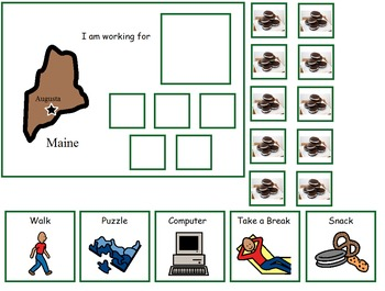 Autism:  State of Maine Token Board