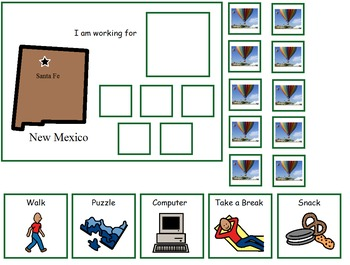 Autism:  State of New Mexico Token Board