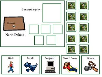 Autism:  State of North Dakota Token Board