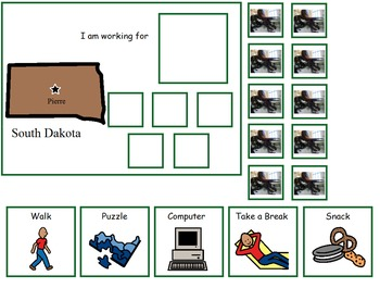 Autism:  State of South Dakota Token Board