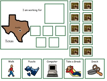 Autism:  State of Texas Token Board