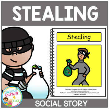 Social Story Stealing Book Autism