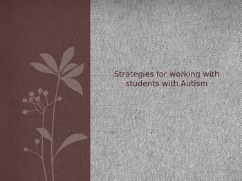 Autism Strategies