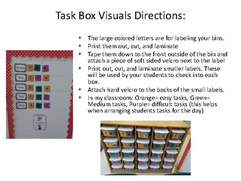 Autism Task Boxes Start-Up Kit