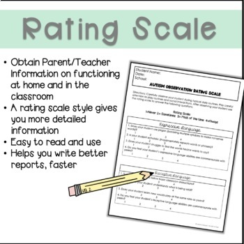 Autism Teacher Observation Rating Scale