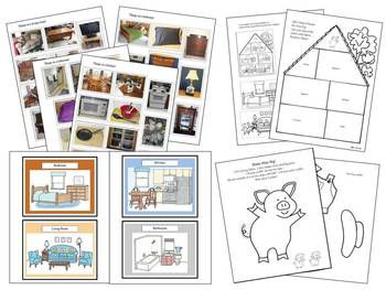 Autism Household Vocabulary and Literacy Activities for Young Children