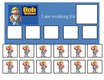 Autism Token Board Bob the Builder