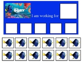 Autism Token Board Finding Dory
