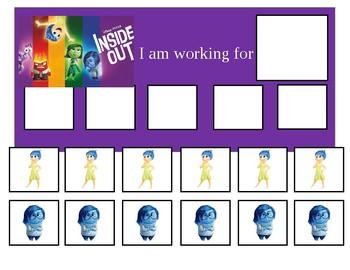 Autism Token Board Inside Out