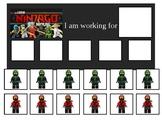 Autism Token Board Lego Ninjago Movie