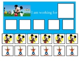 Autism Token Board Mickey Mouse Clubhouse