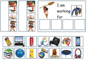 Autism: Token Board Moana