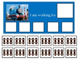 Autism Token Board Thomas the Train