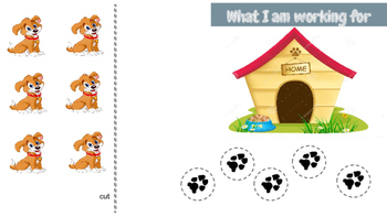 Autism Token Boards : Stars, soccer, dog, princess castle, dog