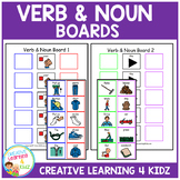 Verb & Noun Sentence Boards