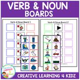 Verb & Noun Sentence Boards