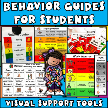 Autism Visual Monitor MEGA Bundle: Teach Appropriate Behavior (Aspergers, ED)