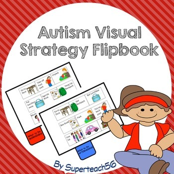 SPECIAL EDUCATION* Autism Visual Strategy Flip Book