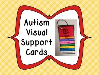 Autism Visual Support Cards Ring