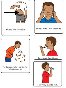 Autism Visual Support and More: Illness