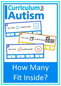 2D 3D Shapes Cards Autism Special Education Visual Thinking