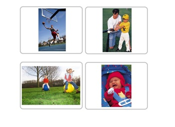 Autism:  Visual Who, What, Where Pictures and Choice Cards