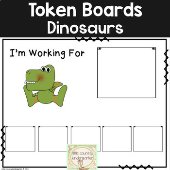 Autism Visuals: First Then Boards and I'm Working For Boards: Dinosaur Theme