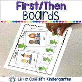 Autism Visuals: First Then Boards and I'm Working For Boar