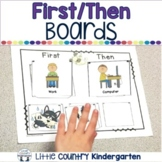 Autism Visuals: First Then Boards and I'm Working For Boards