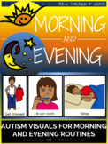 Distance Learning: Autism Visuals - Morning and Evening Routines
