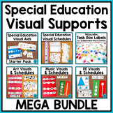 Autism Visuals and Schedules for Special Educations BUNDLE