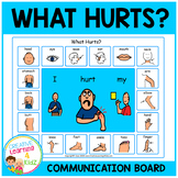 What Hurts Communication Board Visual PECS