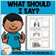 What Should I Say? Interactive Workbook 2 Autism